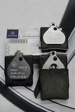 Genuine Mercedes Benz W203 C-Class CLK Rear Brake Pads A0034202820 NEW