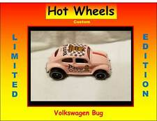 Hot Wheels Volkswagen VW Beetle Bug Chess Pawn Custom Pink - Awesome car