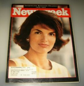 JACQUELINE KENNEDY ONASSIS NEWSWEEK MAGAZINE-MAY 30 1994
