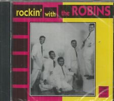 ROCKIN' WITH THE ROBINS  - 26 tracks - BRAND NEW - CD