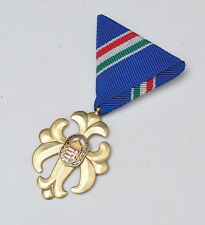 Hungary - Current Order of Vitez, National Defense Cross, golden