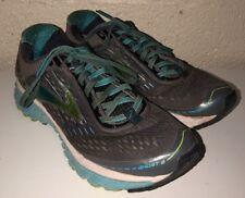 Brooks Ghost 9 Women's Running Shoes Sz 8.5B 1202251B151 Gray Blue Atoll