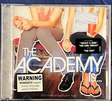 The Academy Is...Fast Times At Barrington High CD Album in VG Condition