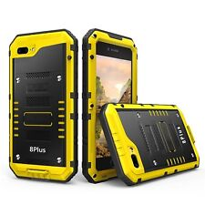 iPhone 8 Plus/7 Plus Waterproof Hard Case Heavy Duty Full Body Protective Yellow
