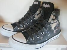 Black Converse Chuck Taylor All Star Batman Trainers Size 4 DC Comics Rare