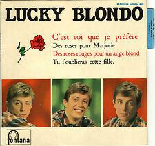 LUCKY BLONDO C'EST TOI QUE JE PREFERE FRENCH ORIG EP JACQUES DENJEAN