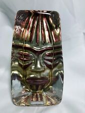 """Vintage Studio Glass, Signed - """"Moai"""" by Renate Stock Paulsson - FREE SHIPPING!!"""