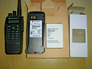 Motorola DP3600 UHF 403-470MHz DMR with unused IMPRES battery, clip & antenna #A