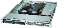 1U Supermicro 2 Bay LFF Server 2x Xeon E5-2630 v2 12 Core 2.6Ghz 128GB Ram 2 PS