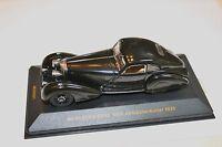 1/43 MERCEDES BENZ 500K AUTOBAHN-KURIER 1935 BLACK COUPE RARE IXO MUSEUM NO BOX