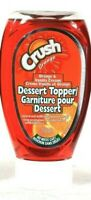 1 Bottles Crush Orange & Vanilla Cream Dessert Topper 250ml