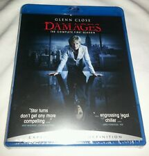 Damages - The Complete First Season (Blu-ray Disc, 2008, 3-Disc Set) / SEALED