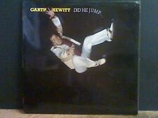 GARTH HEWITT  Did He Jump   LP  With Cliff Richard  Lovely copy !!