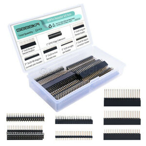 13PCS 40Pin Male Header Kit Box For RPi Pin Expansion Multiple Specifications