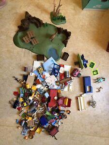 Playmobil Konvolut Tierarzt Landschaft Usw