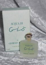 Collectors mini parfum -  Giorgio armani Acqua di gio    + box 5 ml