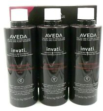 Aveda Invati Scalp Revitalizer Solutions For Thinning Hair 3 Refills 5oz*3 Read