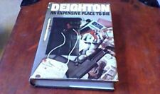AN EXPENSIVE PLACE TO DIE Len Deighton UK 1st CAPE Hardback w/ D/J INSERT DOCKET
