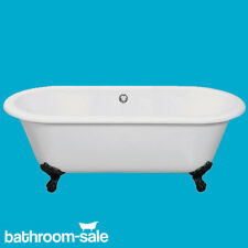 Cambridge Roll Top Freestanding Bath 1690 x 780 Cast Iron Bath Feet | RRP: £759