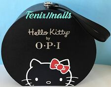 OPI Collector's HELLO KITTY HAT BOX DISPLAY CASE for nail polish gel color NEW