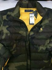 Polo Ralph Lauren Camo Lightweight Packable Down Jacket Sz Large NWT ~$220