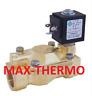 """O.D.E 21W3KV190 SOLENOID VALVE 3/4"""" FOR  HOT WATER COIL  24V OR 110V OR 230V"""