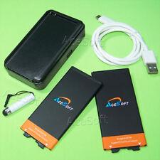 4370mAh Extended Slim Battery + AC/USB Charger F LG G5 VS987 H830 BL-42D1F US992