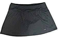 Champion Black Athletic Tennis Golf Running Sports Skirt Skort Womens Size M