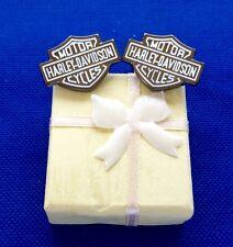 Harley Davidson Cufflinks With Gift Box Gift Idea