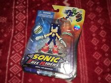 "RARE Jazwares 3"" SONIC THE HEDGEHOG Figure SONIC FREE RIDERS MIB Toy Doll SEGA"