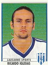 065 RICARDO IGLESIAS # ESPANA LAUSANNE SPORTS STICKER PANINI FOOTBALL 99