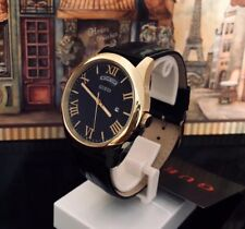 AUTHENTIC GUESS MEN'S METROPOLITON WATCH 0792G4 Gold Tone Brand New