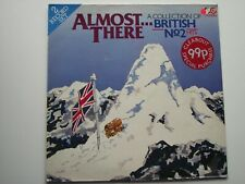 """Almost There - A Collection of British No. 2 Hits. Rare 2x 12"""" Vinyl LP (12A1361"""