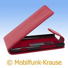 Funda abatible, funda, estuche, funda para móvil F. Nokia Lumia 800 (rojo)