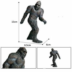 13cm Bigfoot Figure Savage Animal Model Barbarian Decoration Toy Kid Gift