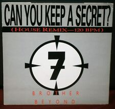 """BROTHER BEYOND - CAN YOU KEEP A SECRET (HOUSE REMIX) 1987 RX 6174 EMI RECORDS 7"""""""