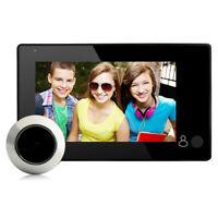 4.3 inch TFT Digital Peephole Viewer 145°Door Eye Doorbell Video Color Camera