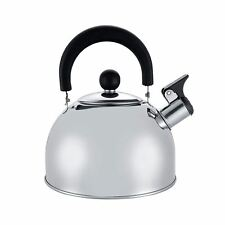 2 L Stainless Steel Whistling Kettle Kitchen/home Camping Gas Hob Silver