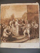 Beato Balduino da Pisa Torres Arborea Sardegna Collignon stampa antica 1800