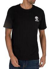 Timberland Men's Box Graphic  T-Shirt, Black