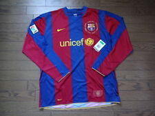 Barcelona 100% Original Jersey Shirt 2007/08 XL Still BNWT NEW LS Rare