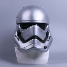 STAR Wars elmetto Cosplay la forza si Sveglia Stormtrooper Casco fatto a mano argento