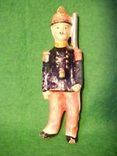 """RARE OLD VINTAGE DUFOR FRANCE LARGE SCALE 5 1/2"""" TALL COMPOSITION FRENCH SOLDIER"""