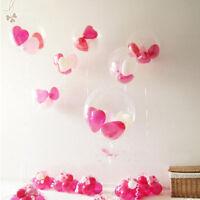 100pcs Latex Luftballons Transparent Ballon Hochzeit Party Deko Riesenballon PAL