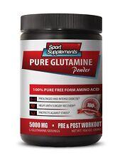 Glutamine Energy - Pure Glutamine Powder 5000mg - Build Lean Muscle Supplement 1