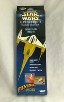 Vintage Star Wars Episode 1 Naboo Fighter Catapult Flying Model Kit - New