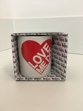 "The Beatles Ceramic ""love me do"" Mug Gift Boxed - Liverpool 60's pop culture."