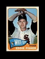 1965 Topps Baseball #328 Eddie Fisher (White Sox) NM