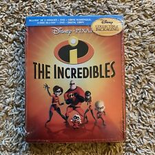 Disney Pixar's The Incredibles (Futureshop Exclusive Vmb) Blu-Ray Steelbook