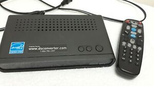 Digital Stream Analog Pass-Through DTV Converter Box DTX9950 Remote Included
